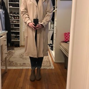 Zara NWT trench coat XS
